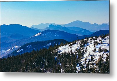 A Sea Of Mountains, South Moat Mountain Summit Metal Print