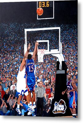 A Shot To Remember - 2008 National Champions Metal Print