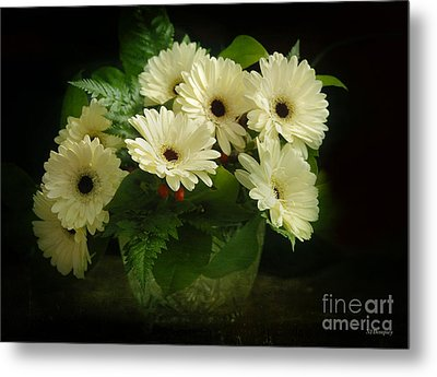 A Simple Bouquet Metal Print by Nancy Dempsey