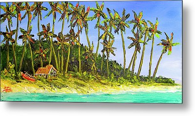 A Simple Life#374 Metal Print by Donald k Hall