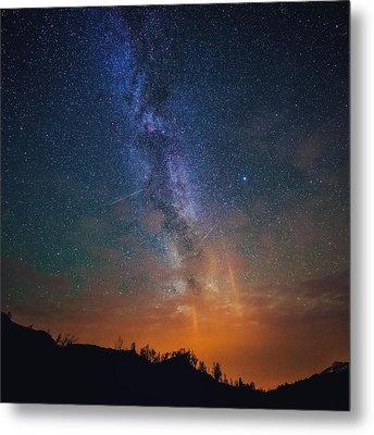 A Sky Full Of Stars Metal Print by Tor-Ivar Naess
