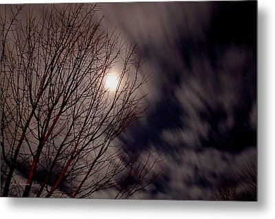 A Sky In Motion Metal Print by Mick Anderson