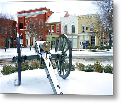 A Snowy March Day Metal Print