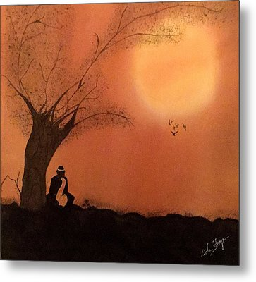 A Song For Me Metal Print by Dale Faye