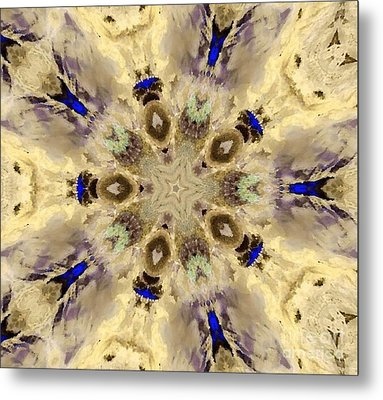A Star From Above Metal Print