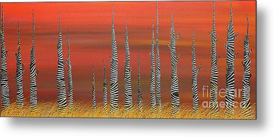 A Still Day On The Outskirts Of Hades Metal Print
