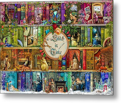 A Stitch In Time Metal Print by Aimee Stewart