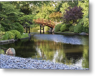 Metal Print featuring the photograph A Stone's Throw Away by Andrea Silies