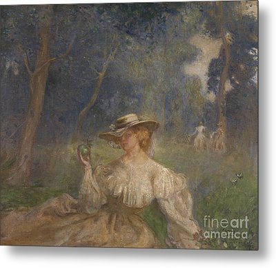 A Summer Afternoon The Green Apple  Metal Print