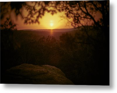A Sun That Never Sets Metal Print