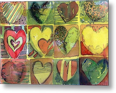 A Sunny Valentine Metal Print by Mindy Newman