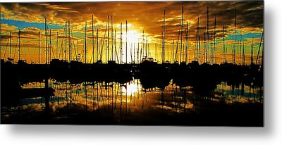Metal Print featuring the photograph A Sunrise Forever by John King