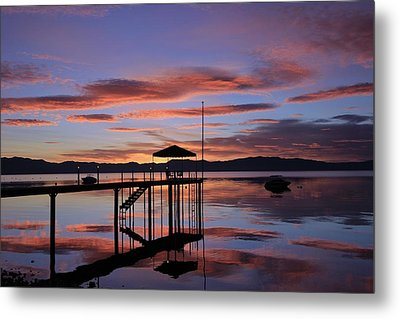 Metal Print featuring the photograph A Sunrise To Wake The Dead  by Sean Sarsfield