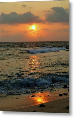 Metal Print featuring the photograph A Sunset To Remember by Lori Seaman
