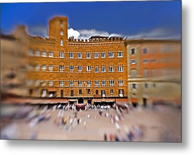 A Surreal Siena Metal Print by Marilyn Hunt