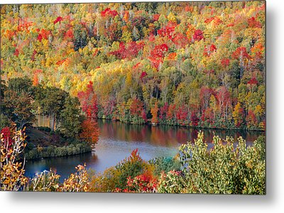 A Tennessee Autumn Metal Print