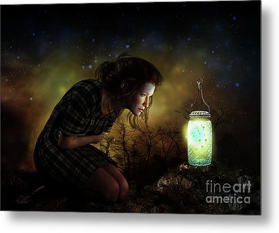 Metal Print featuring the digital art A Thousand Hugs by Shanina Conway