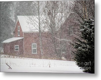 A Thousand Snowstorms Metal Print by William Tasker