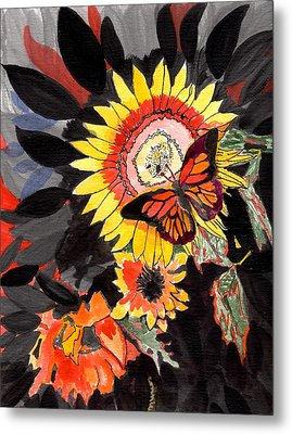 A Touch Of Summer Metal Print by Connie Valasco