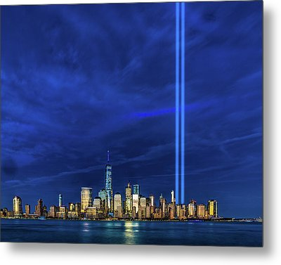 Metal Print featuring the photograph A Tribute At Dusk by Chris Lord