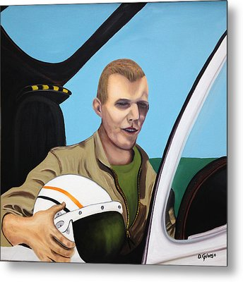 A Tribute To Maj. Lono Metal Print