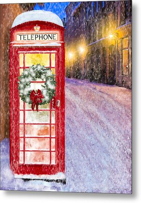 A Very British Christmas Metal Print by Mark Tisdale