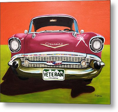 A Veteran's Ride Metal Print