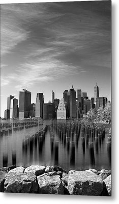 A View From Brooklyn Metal Print by Jessica Jenney
