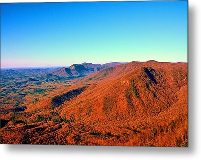 A View From Caesars Head State Park Metal Print by Lisa Wooten