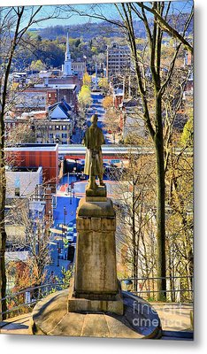 Metal Print featuring the photograph A View From College Hill by DJ Florek