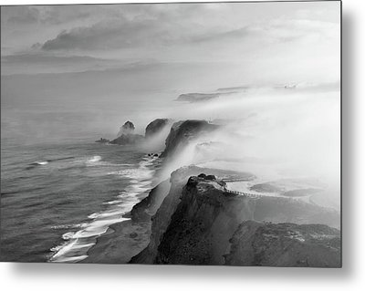 Metal Print featuring the photograph A View Of Gods by Jorge Maia