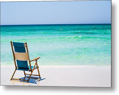 A View Of The Ocean Metal Print by Shelby  Young