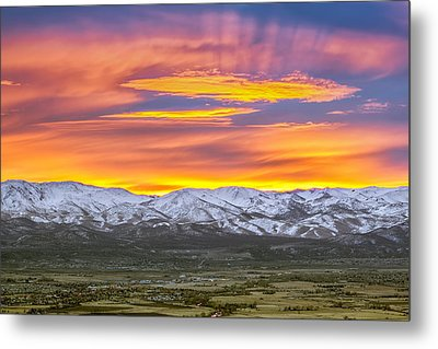 A Waking World Metal Print by Steve Baranek