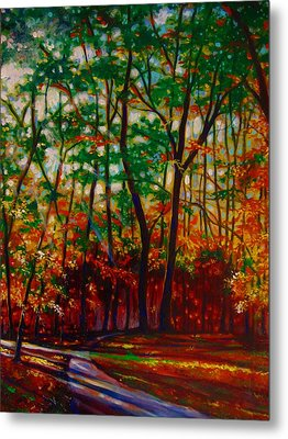A Walk In The Park Metal Print by Emery Franklin