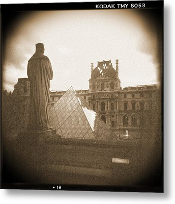 A Walk Through Paris 16 Metal Print