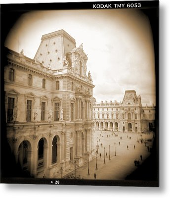 A Walk Through Paris 20 Metal Print by Mike McGlothlen