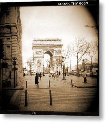 A Walk Through Paris 3 Metal Print by Mike McGlothlen