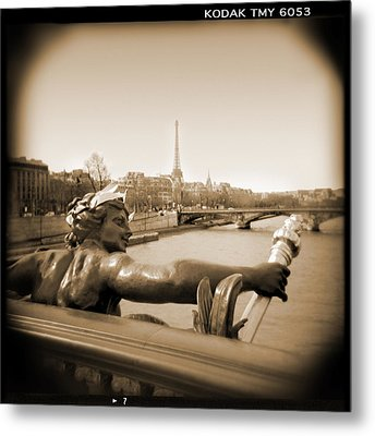 A Walk Through Paris 7 Metal Print by Mike McGlothlen