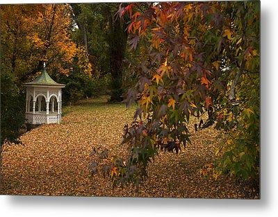 A Washington Crossing Autumn Metal Print