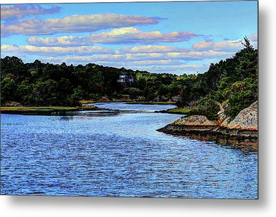 Metal Print featuring the photograph A Water View Newport Ri by Tom Prendergast