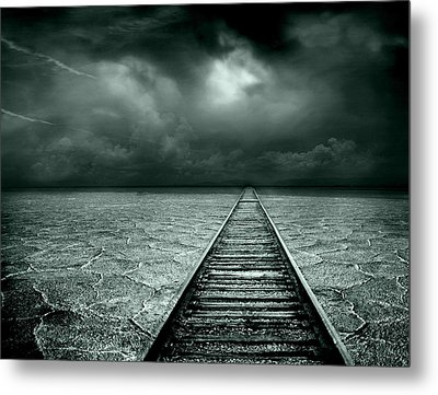 A Way Out Metal Print by Jacky Gerritsen