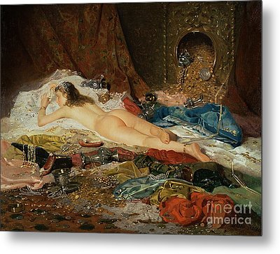 A Wealth Of Treasure Metal Print by Della Rocca