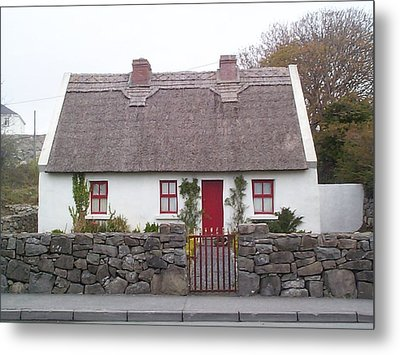 A Wee Small Cottage Metal Print by Charles Kraus
