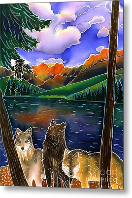 A Wild Place Metal Print by Harriet Peck Taylor