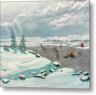 A Winter Afternoon Metal Print by Dan O'Neill