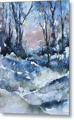 A Winter's Eve Metal Print