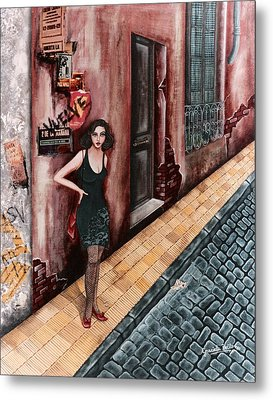 A Woman In Buenos Aires I Metal Print
