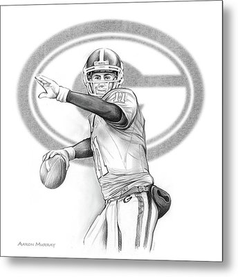 Aaron Murray Metal Print