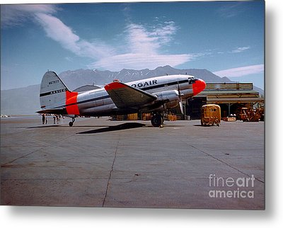 Aaxico Ch-28 Logair Curtiss C-46 Commando N67977,  Metal Print