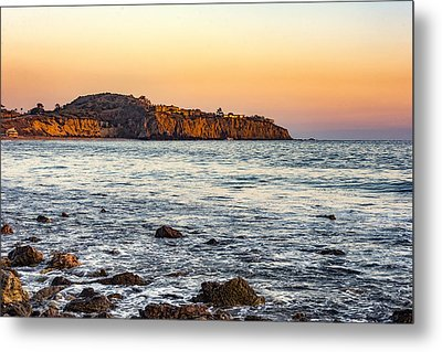 Metal Print featuring the photograph Abalone Point Sunset by Anthony Baatz